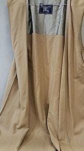BURBERRY London womans long zip sleeveless coat